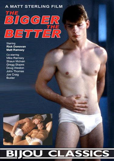 Rick Donovan bareback fuck Matt Ramsey vintage gay hot daddy dude men porn Bigger Better