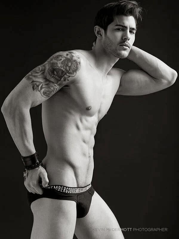 Rene Grincourt sexy hot models dudes men