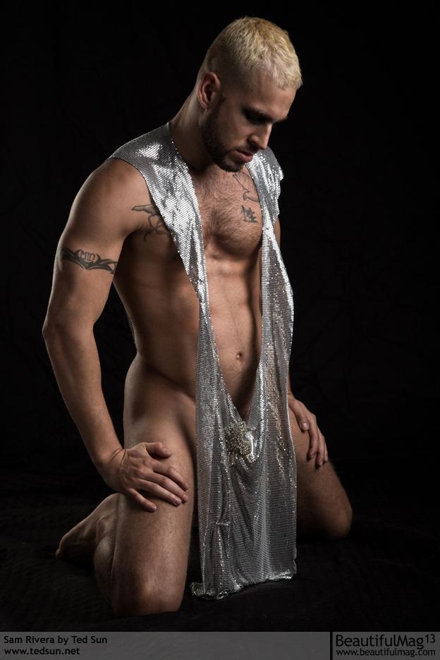 Sam Dejesus Rivera hot gay dude  men model