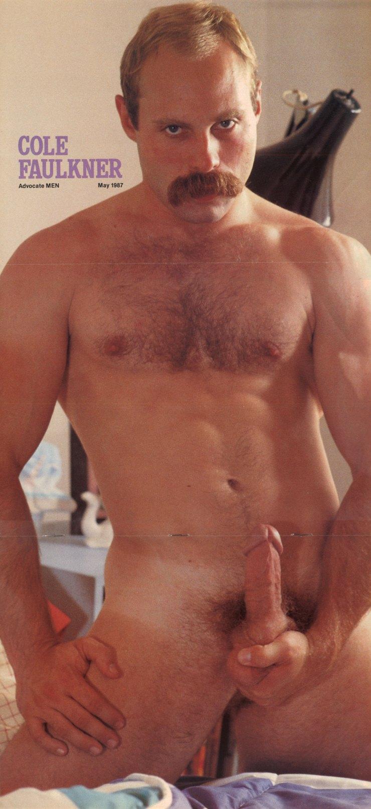 Cole Faulkner vintage gay hot daddy dude men porn