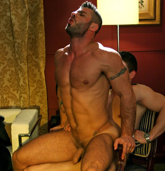 Patrik fuck Alex Marte gay hot daddy dude porn Gambler
