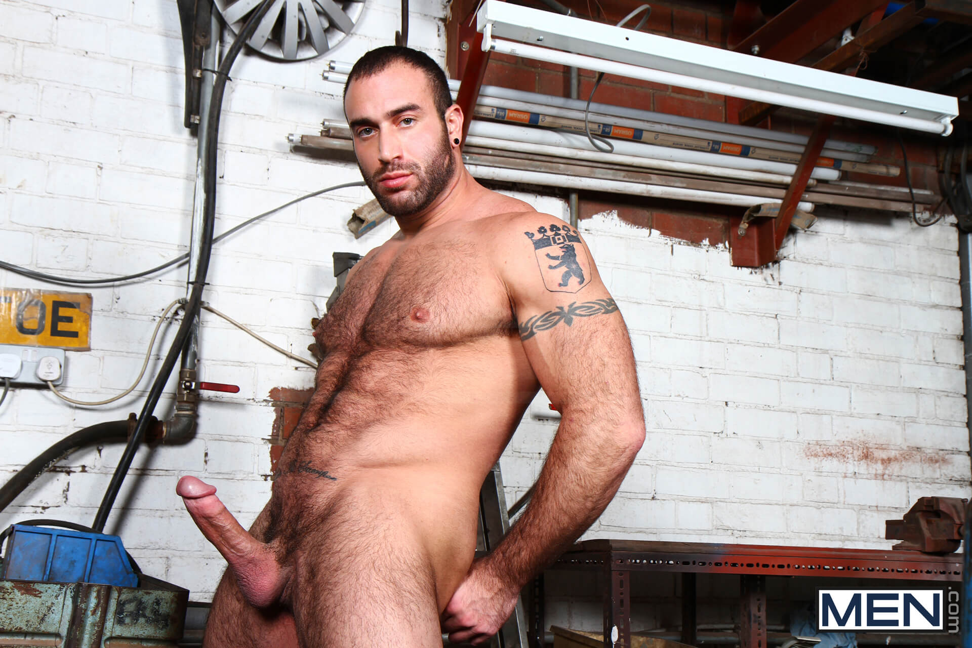 Spencer Reed gay hot daddy dude men porn