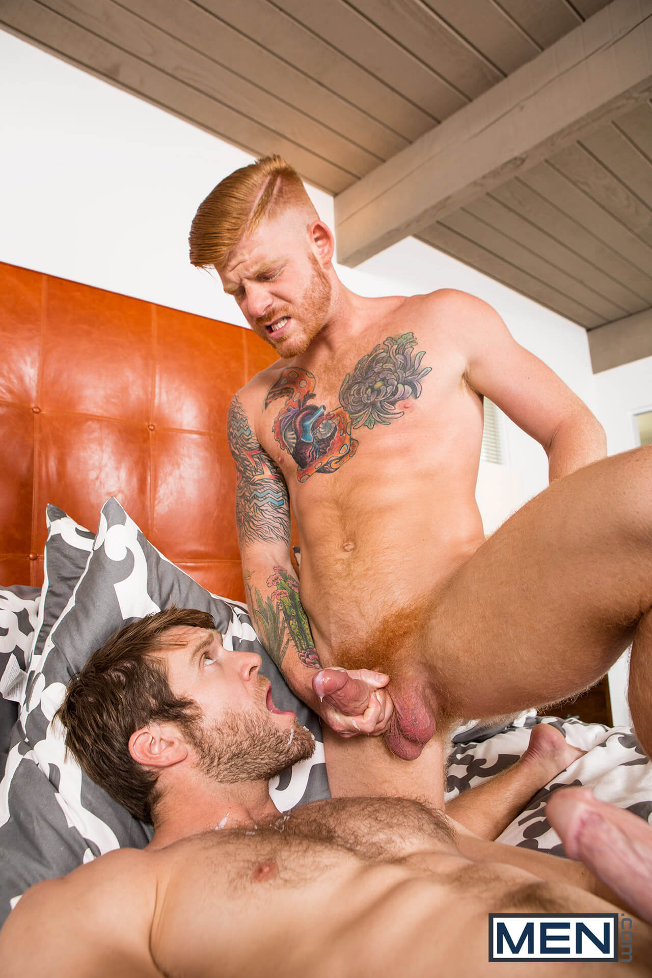 Colby Keller fuck Bennett Anthony gay hot daddy dude men porn Make Me An Offer