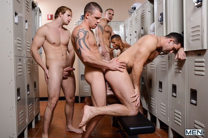 Phenix Saint Robert Axel Cameron Foster Adam Bryant Darin Silvers Football DL gay hot daddy dude men porn