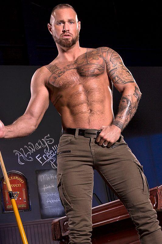 Michael Roman gay hot daddy dude men porn