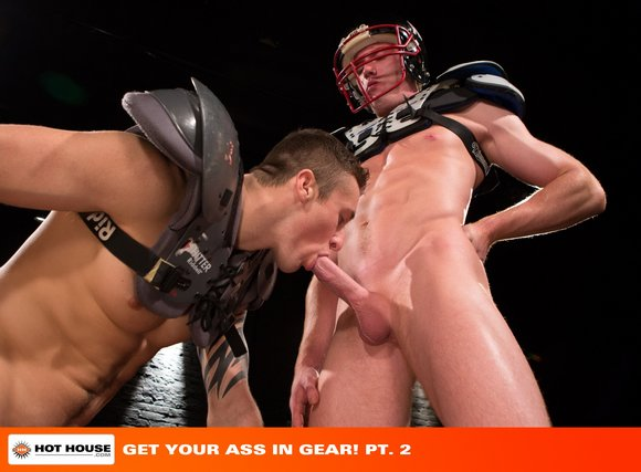 Josh Bangs fuck Connor Kline gay hot daddy dude men porn Get Your Ass In Gear
