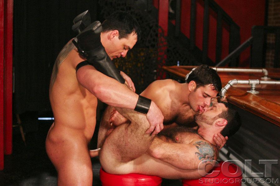 Edu Boxer Dave Angelo fuck Sam Shadon gay hot daddy dude men porn Big 'n Plenty