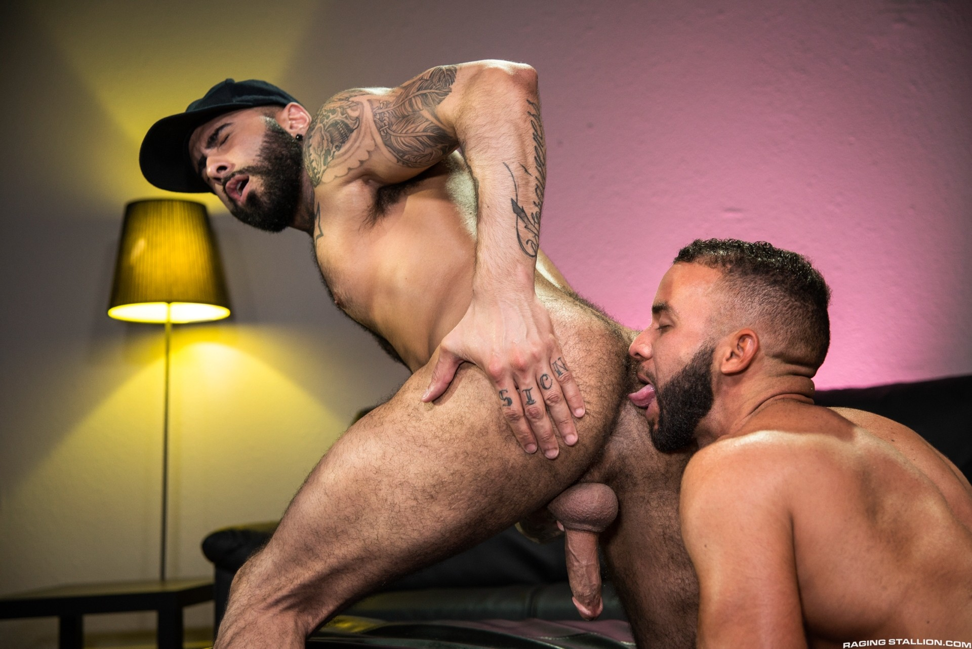 Fernando del Rio flip-fuck Rikk York gay hot daddy dude men porn Gaymers