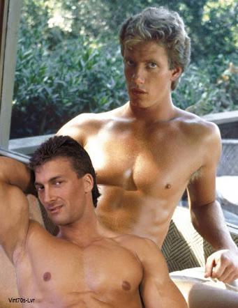 Robert Harris bareback fuck Joe Cade vintage gay hot daddy dude men porn Cruisin
