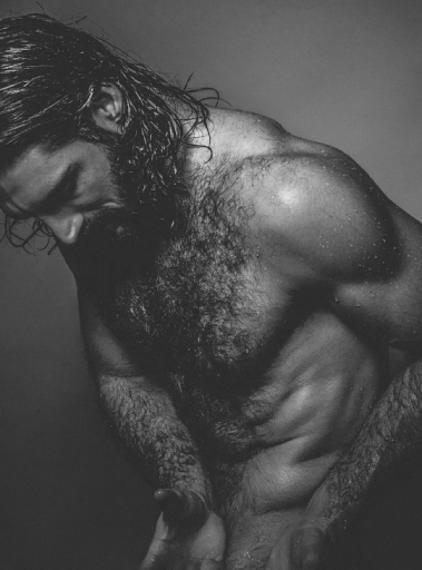 gay hot daddy dude men porn long-hair