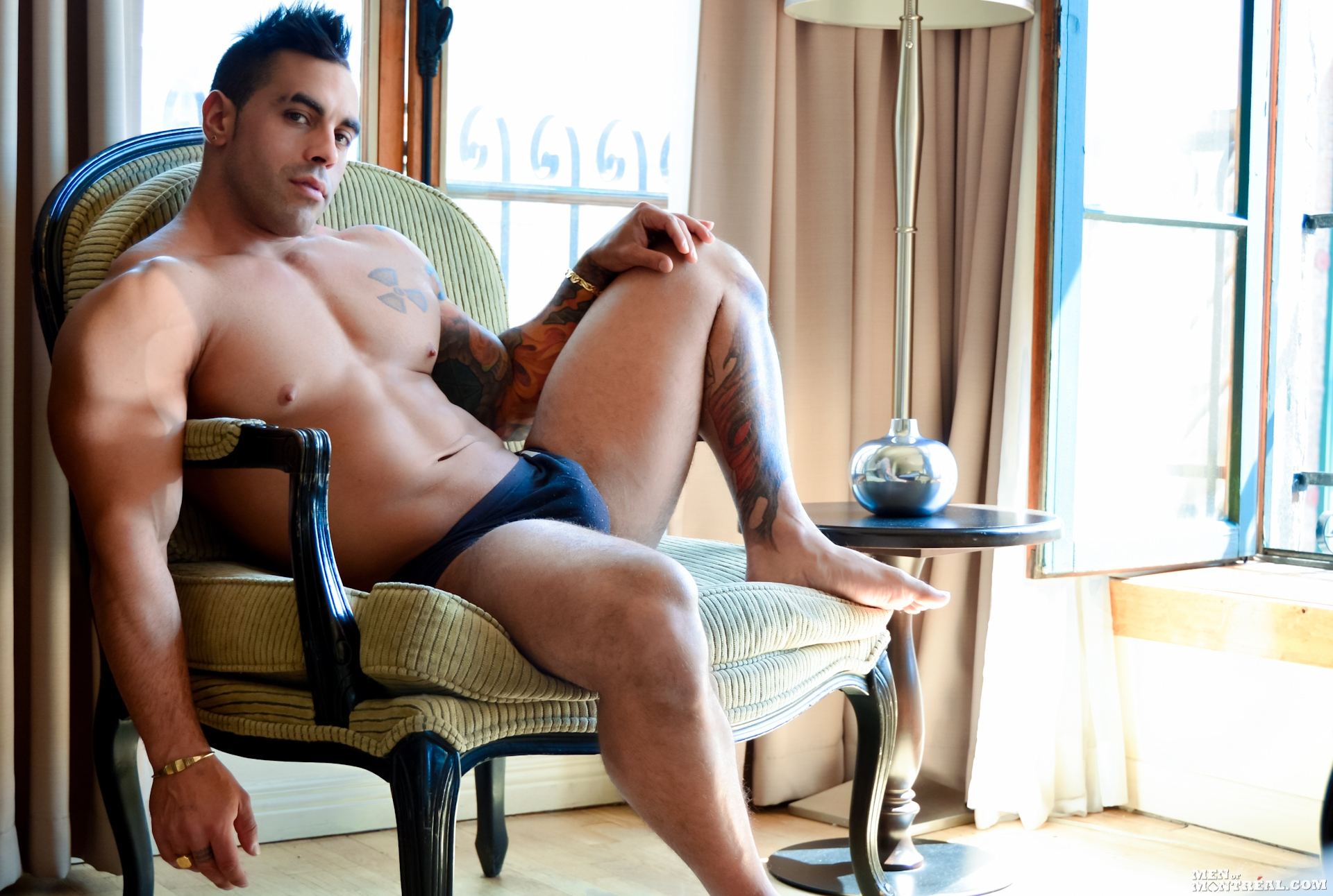 Emilio Calabria gay hot daddy dude men porn Men of Montreal