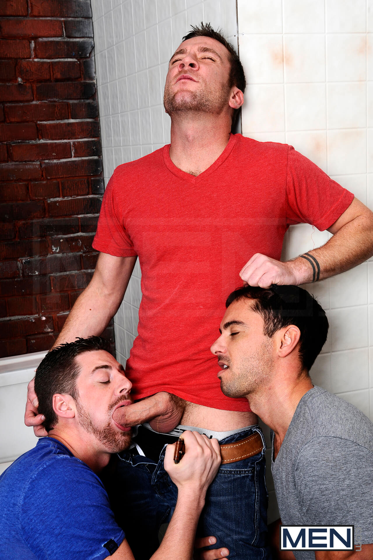 Donny Wright Trevor Knight fuck Andrew Stark gay hot daddy dude men porn Tales John