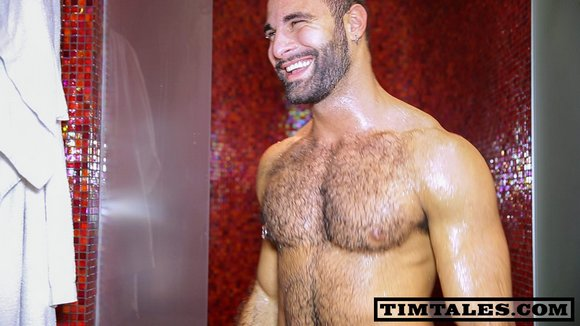 Tim Kruger fuck Paco gay hot daddy dude men porn TimTales
