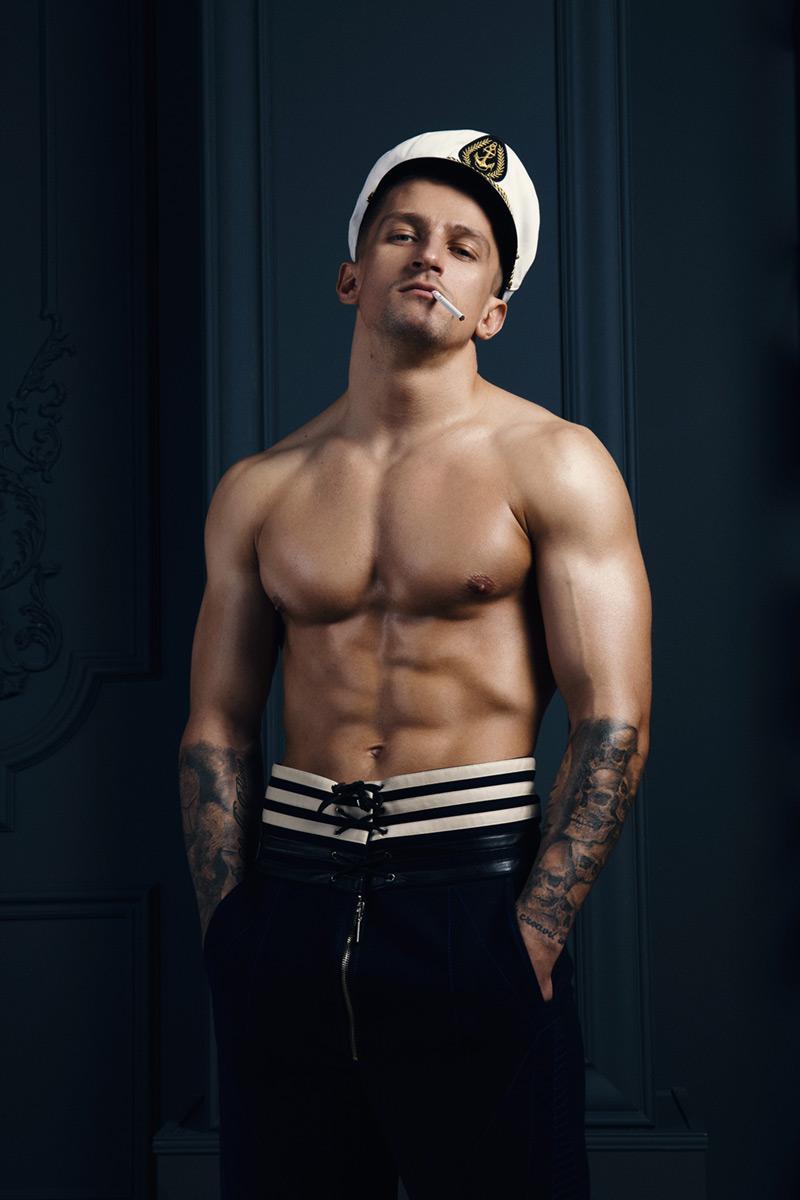 Alexander Zhirmont hot sexy daddies dudes men model