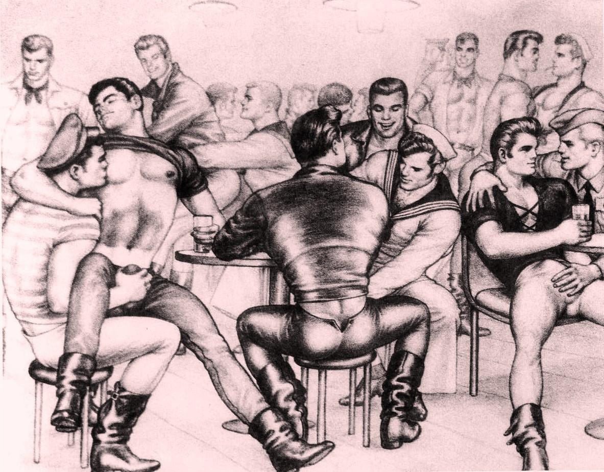 gay erotic art porn daddies dudes men