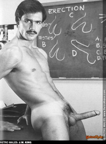 JW King vintage gay hot daddy dude men porn