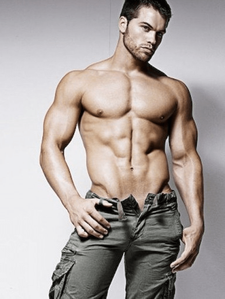 Jed Hill gay hot daddy dude men model