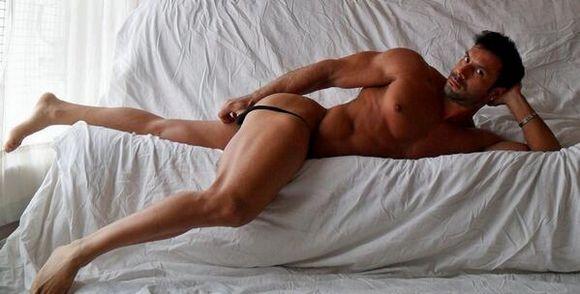 Flex Xtremmo gay hot daddy dude men porn