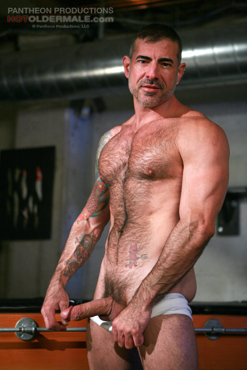Nick Moretti gay hot daddy dude men porn