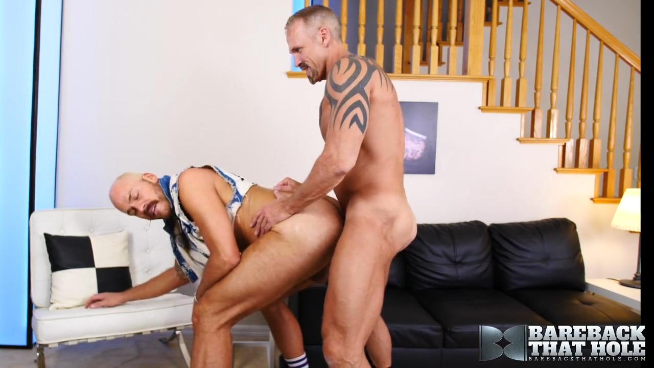 Parker Logan bareback flip fuck Dallas Steele gay hot daddy dude men porn