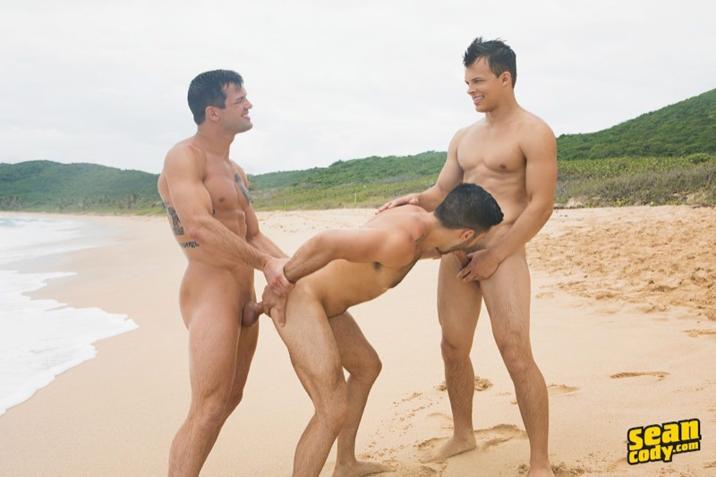 Jayden Brysen Manny gay hot bareback fuck threeway guys dude men porn Sean Cody