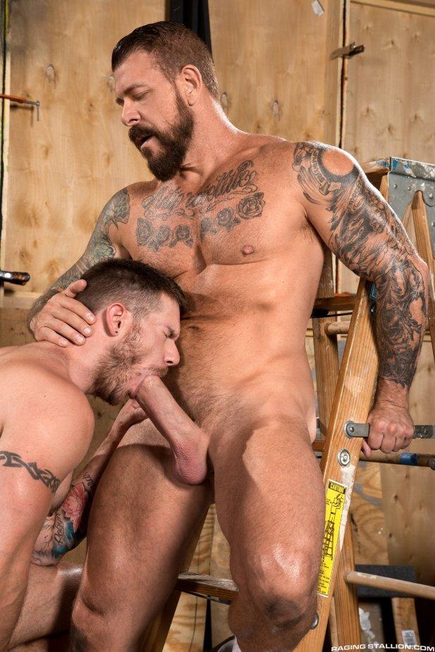 Rocco Steele fuck Skippy Baxter daddy dude men porn Hot as Fuck