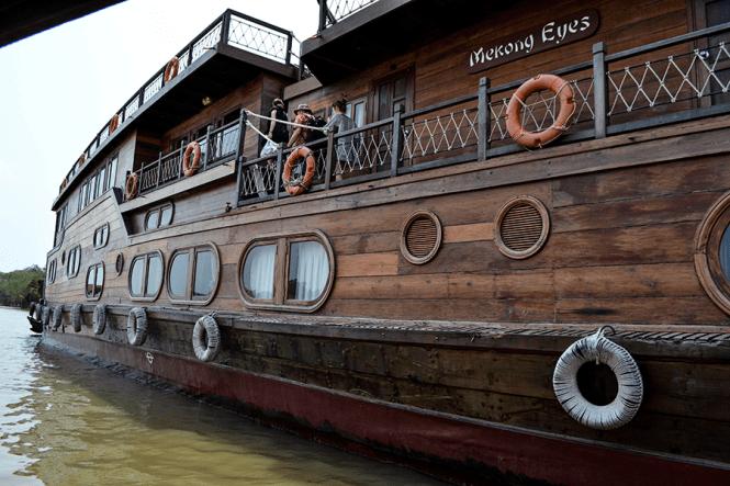 Mekong Eyes Cruise, Mekong Delta