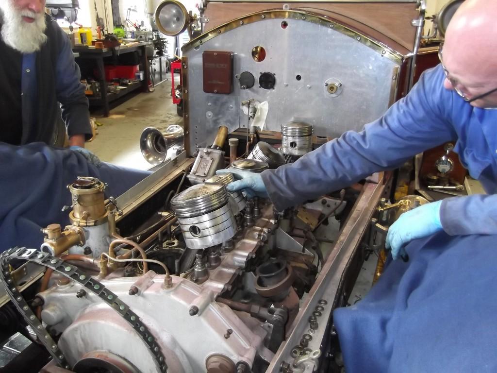 ROLLSROYCE  MILFORD VINTAGE ENGINEERING