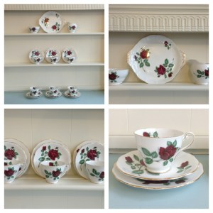 Red Velver Tea Set