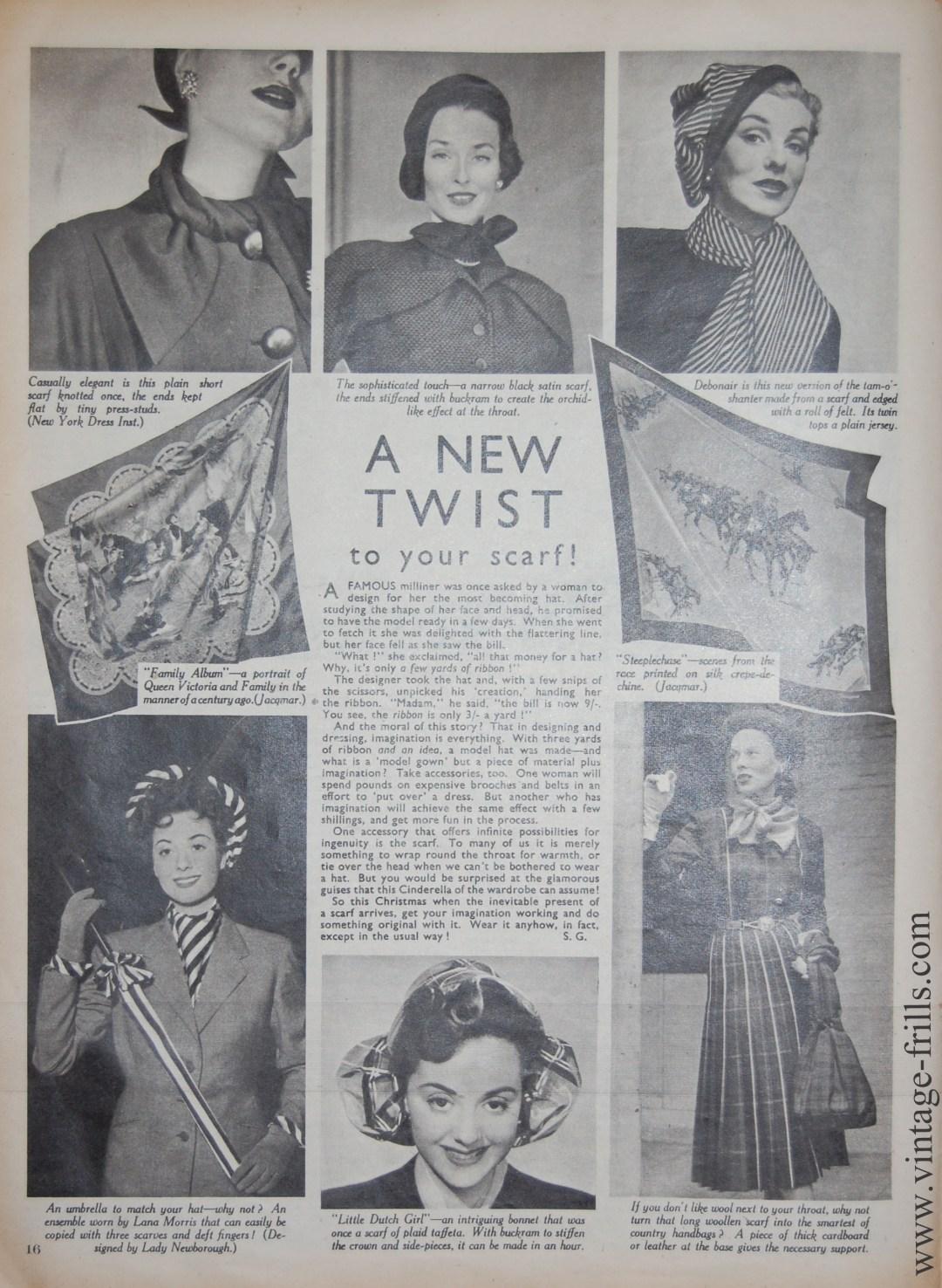 Vintage Scarves 1