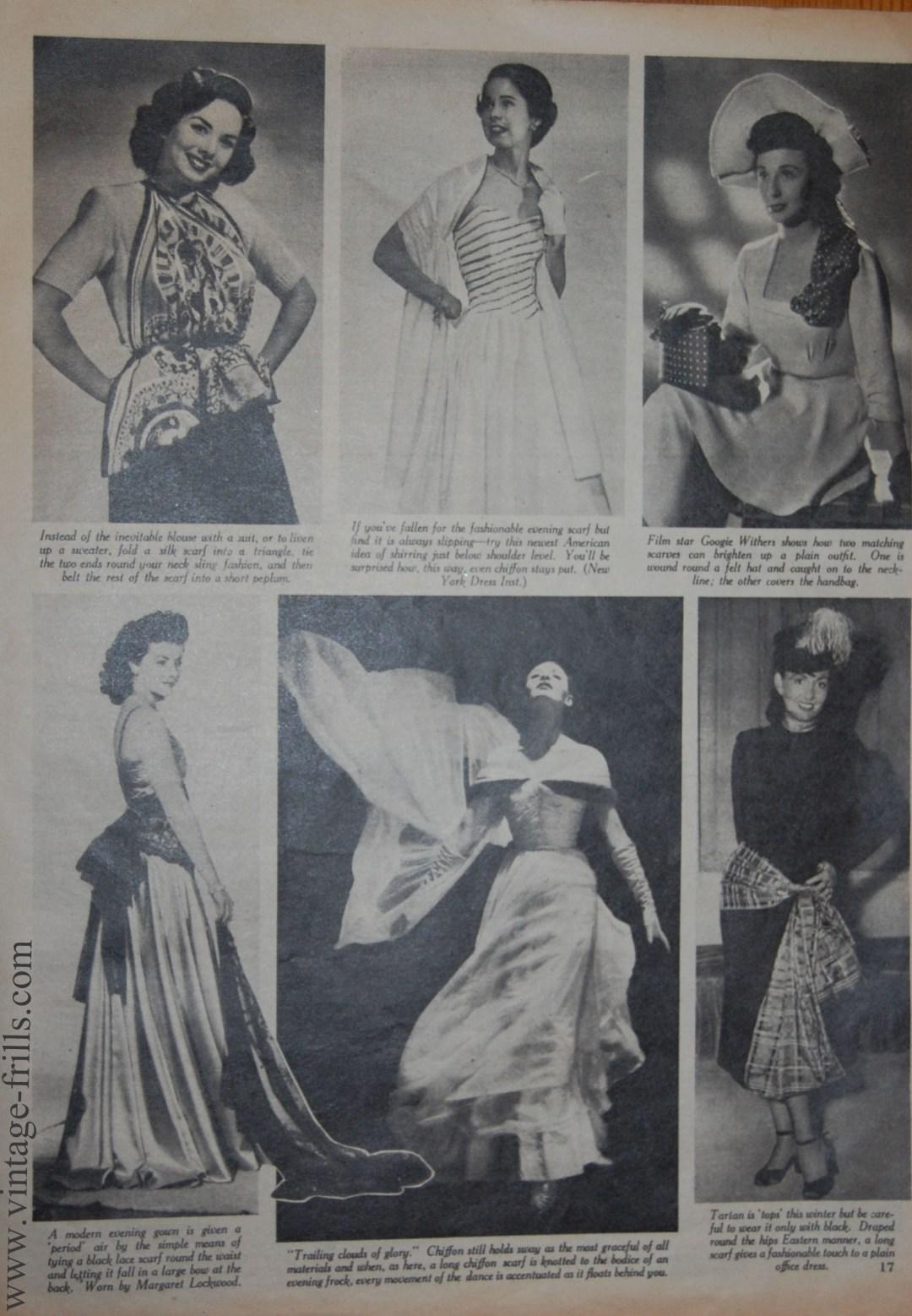 Vintage Scarves 2