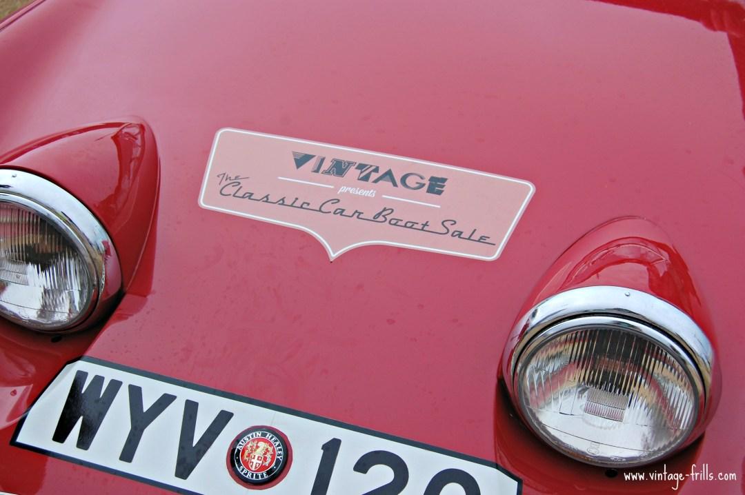Classic Car Boot Sale, Queen Elizabeth Olympic Park,