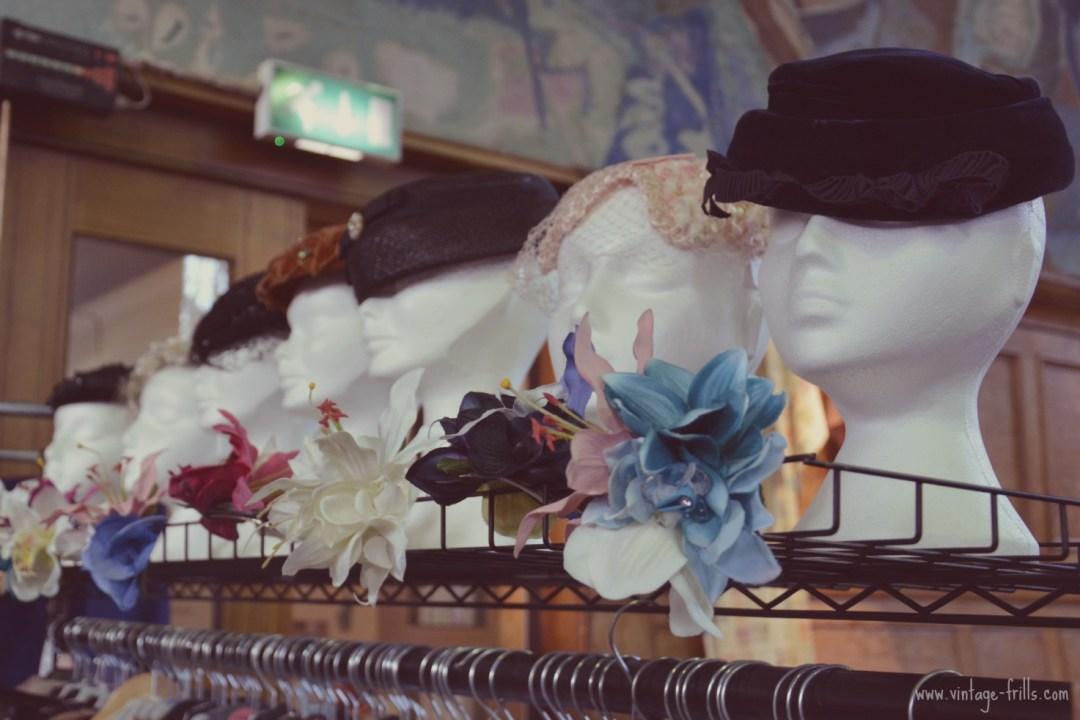 Vintage Hats Mid Century Market