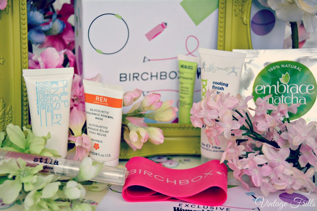 Birchbox January 2015 Womens Health Contents