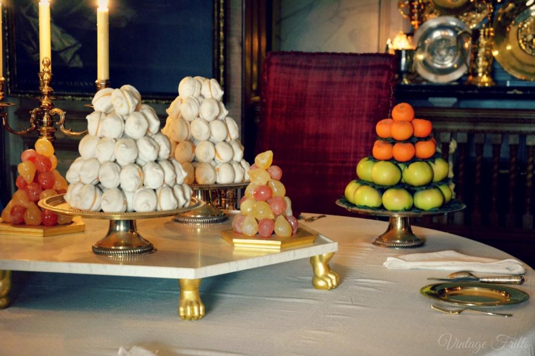 Hampton Court Table Food