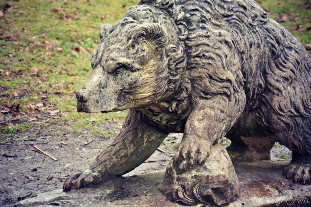 Claremont Bear Statue