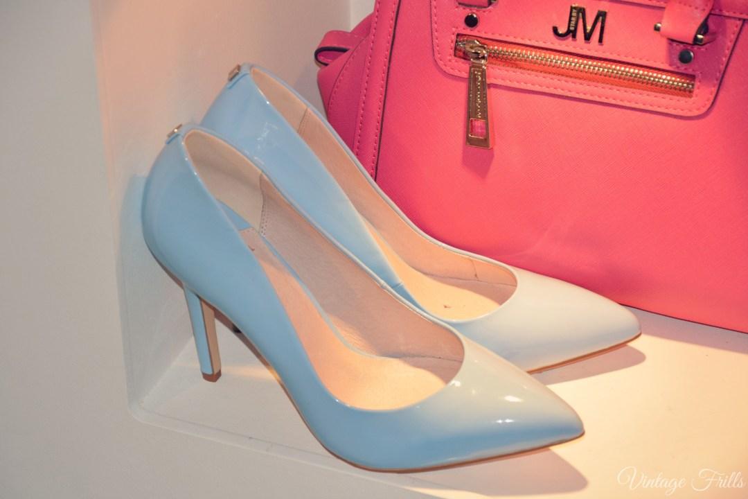 Debenhams SS15 Blue Court Shoes