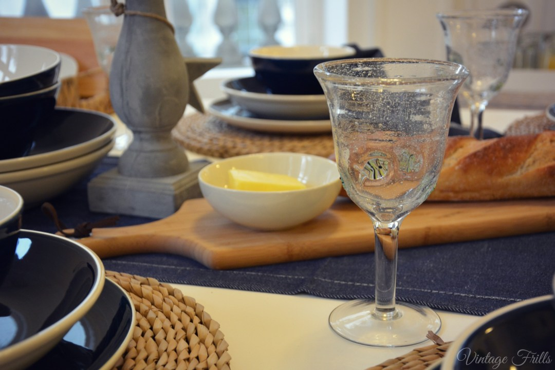 Matalan Home SS15 Nautical Table Ware
