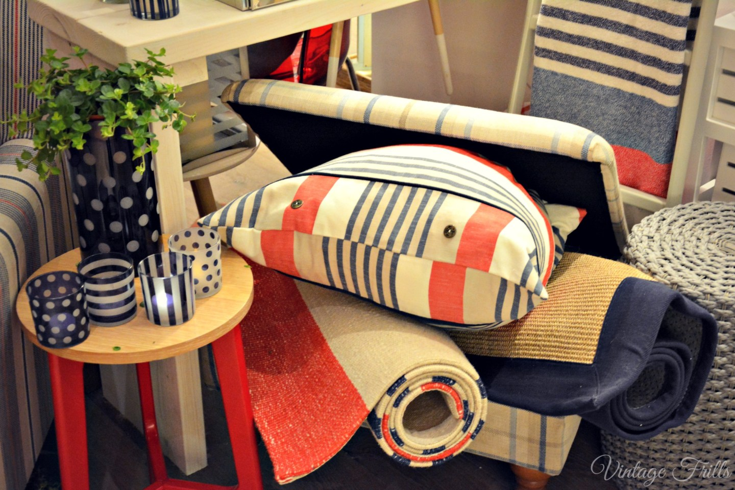 Next Home Summer 15 Press Day Red and Blue Nautical Homewares