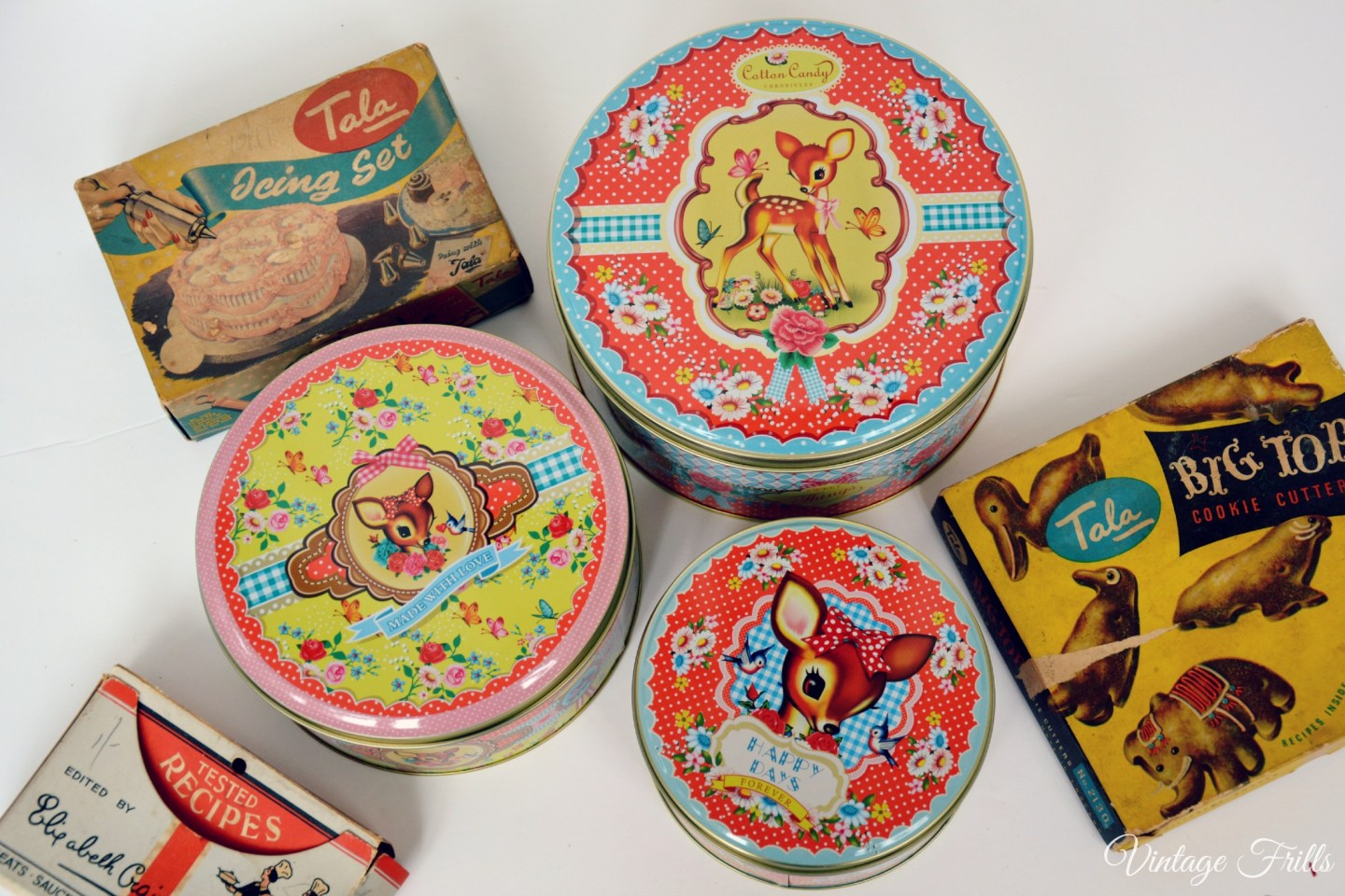 Flamingo Gifts Cute Deer Stacking Tins