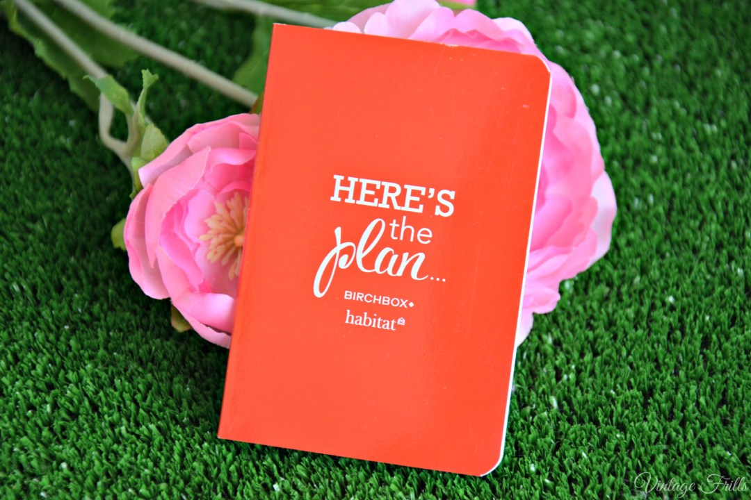 March Birchbox Habitat Notebook