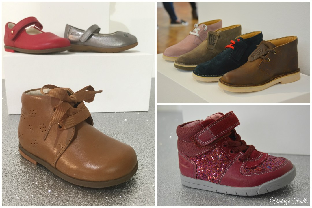 Clarks AW15 Press Day Kids Shoes