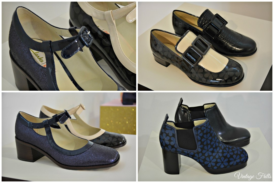 Clarks  AW15 Press Day Orla Kiely Amelia, Alice and Audrey