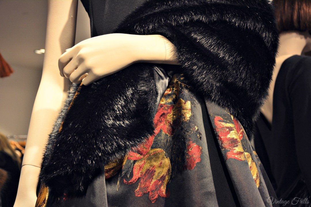 Coast AW15 Press Day Fur Stole Detail