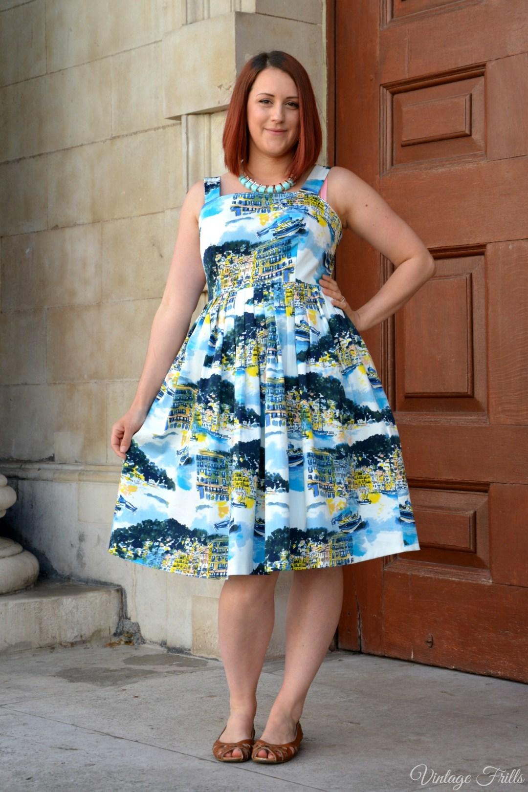 George Seaside Print Dress Review