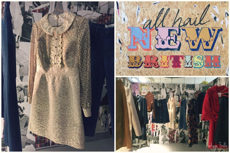 Boden AW15 Press Day Gold Dress