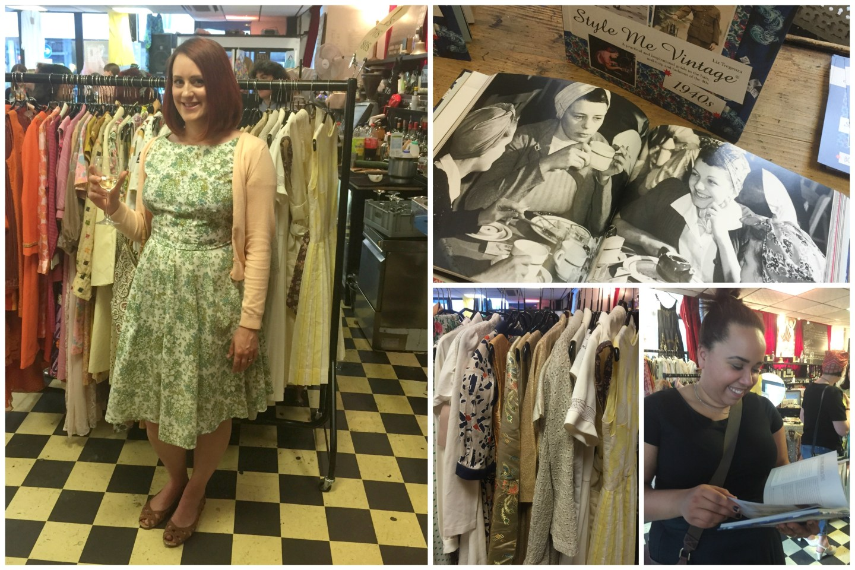 Style Me Vintage 1940s Paper Dress Vintage