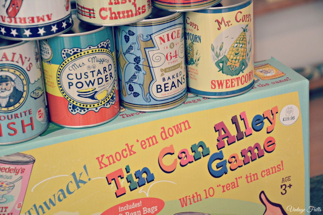 Dot Com Gift Shop Tin Can Alley Game