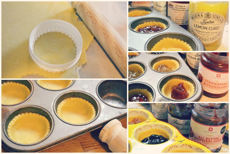 Many Flavour Jam Tarts  Vintage Frills