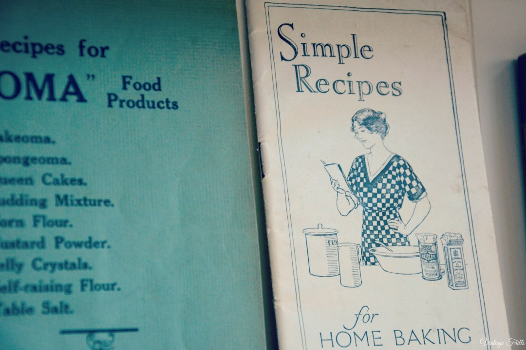 1930s Simple Recipes for Home Baking Recipe Pamphlet